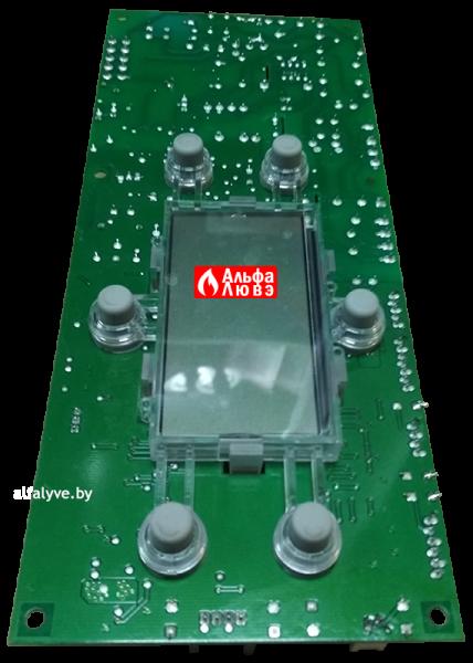 Плата управления Aurora S4962DM3250 на газовый котел Baltgaz Turbo (Вид снизу вдоль)