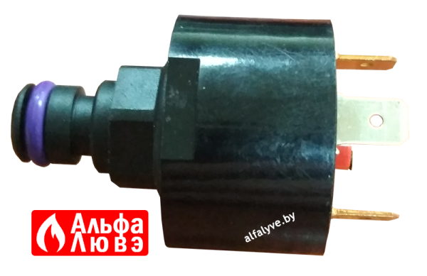 Реле давления для газового котла Beretta, Sime, Ferroli, Baltgaz, Imergas (вид сбоку)