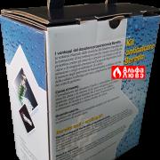 Дозатор полифосфатный (химводоподготовка) для смягчения воды Beretta 696279 в упаковке (вид сзади)