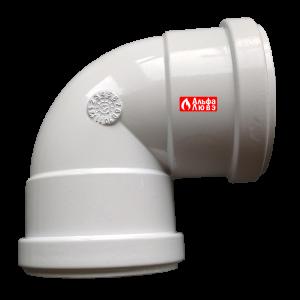Отвод (поворот) 90° для системы раздельного дымоудаления
