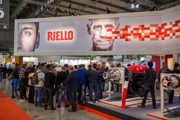 Стэнд Riello на выставке теплотехнической продукции