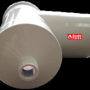 Тройник раздельного дымоудаления (арт — 10075) с конденсатоотводчиком DN80 T 90° (вид снизу)