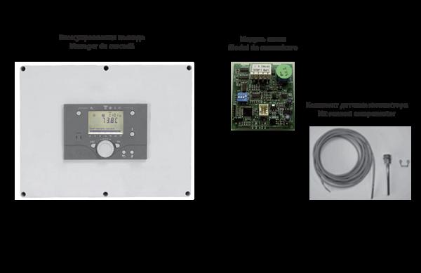 Блок управления RVS 63 — Модуль связи — Комплект датчика коллектора