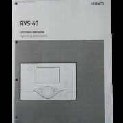 Инструкция от блока управления каскадом котлов RVS 63