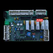 Плата управления 4037028 к пульту управления CLM 5000 горелкой Riello (вид сверху)