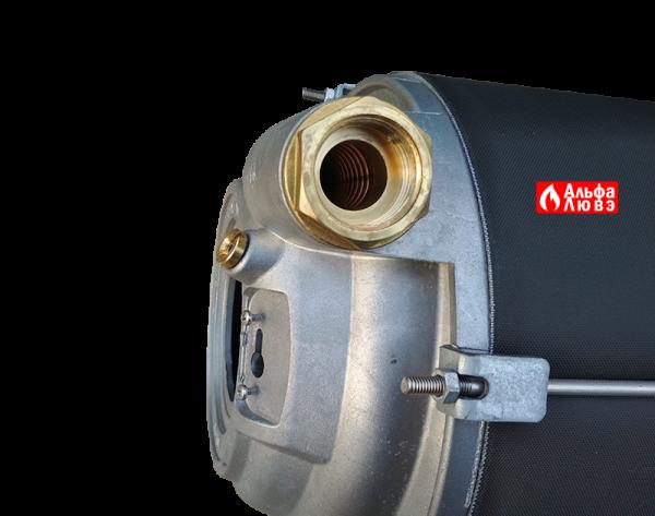 Теплообменник конденсационный Beretta 20049127 на котел Beretta Power Plus 50M, 100M, 100S (вид сбоку)