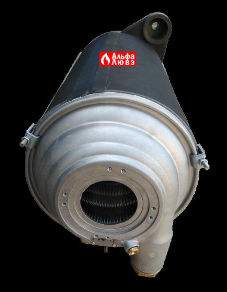 Теплообменник конденсационный Beretta 20049127 на котел Beretta Power Plus 50M, 100M, 100S (вид сверху)