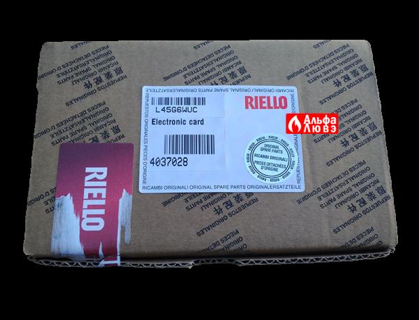 Упаковка платы управления 4037028 к пульту управления CLM 5000 горелкой Riello