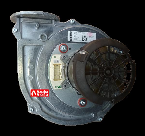 Вентилятор Ebmpapst RG 148-1200-3633-011214 Beretta 20116231 (вид сверху)