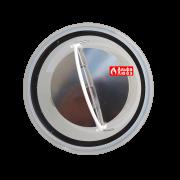 Адаптер с обратным клапаном для конденсационной каскадной системы дымоудаления 110-80 (вид сверху)