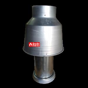 Антирефулер (стабилизатор тяги) для атмосферного котла