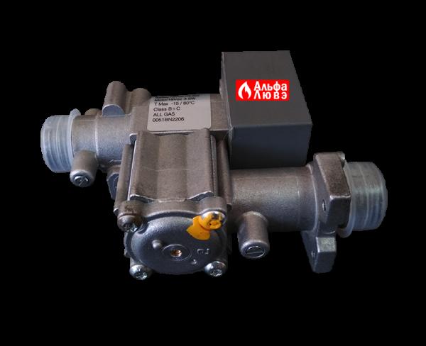 Газовый клапан NordGas NV011222901 ALL GAS 0051BN2206 для газового котла Альфа-Калор 2008-2009 года выпуска (боковая часть)