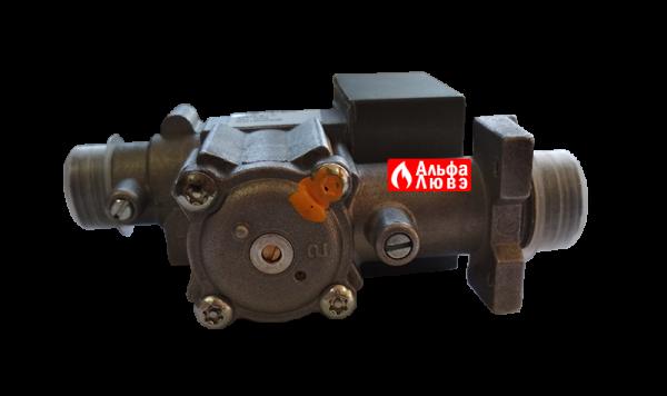 Газовый клапан NordGas NV011222901 ALL GAS 0051BN2206 для газового котла Альфа-Калор 2008-2009 года выпуска (нижняя часть)