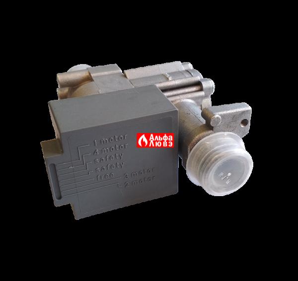 Газовый клапан NordGas NV011222901 ALL GAS 0051BN2206 для газового котла Альфа-Калор 2008-2009 года выпуска (вид сверху)