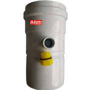 Конденсатоотводчик коаксиальный вертикальный-горизонтальный 80 M-F — 10540 (откручен колпачок)