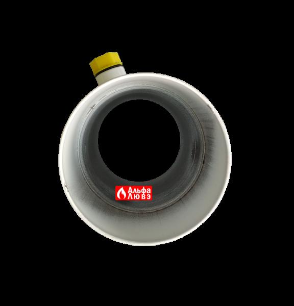 Конденсатоотводчик коаксиальный вертикальный-горизонтальный 80 M-F — 10540 (внутренняя часть сзади)