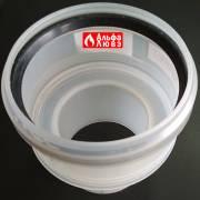 Адаптер редукция DN 80-110 конденсационного каскадного дымоудаления (вид сбоку)