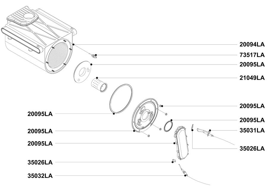 Теплообменник и его элементы котла АОГВ 50 ЗП 2010