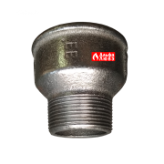 Адаптер переход 3000822 с диаметра 2 дюйма на диаметр 1 1-2 дюйма с горелки на газовую рампу (другой бок)