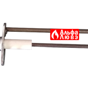 Электрод Beretta 20059490 для котла Beretta Novella, Fabula (вид сбоку)