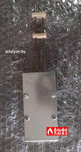 Электрод розжига и ионизации с креплением Beretta 20048151 (вид сзади)