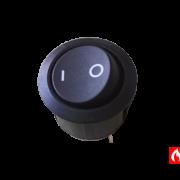 Кнопка включения, выключения Beretta 20018442 на котел Beretta Novella, Fabula (вид сверху)