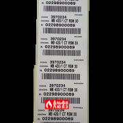 Наклейки газовая рампа (газовый мультиблок) Riello MB 420-1 CT RSM 30