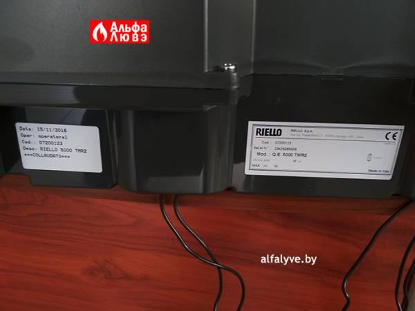 Пульт управления горелкой Riello TMR 2 Артикул сзади 07200123