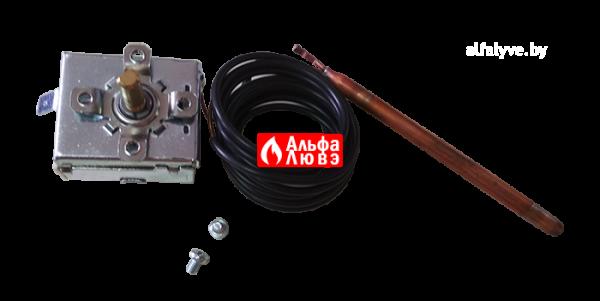 Температурное реле Beretta RK029 для котла Beretta Novella с двумя гайками (вид снизу)
