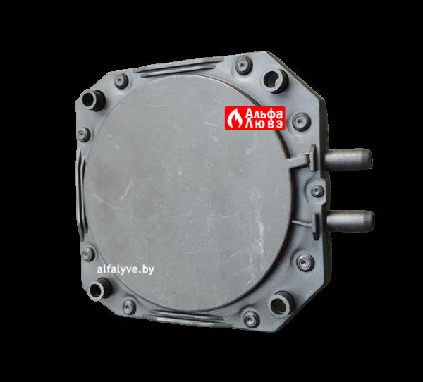 Прессостат (датчик-реле давления воздуха) Krom Schroder DL2EH-1 60Z 67089 P (вид снизу)