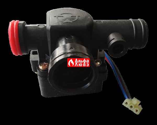 Трехходовой клапан 2040125 на котел Master Gas Seoul 11, 14, 16, 21, 24 (бок)
