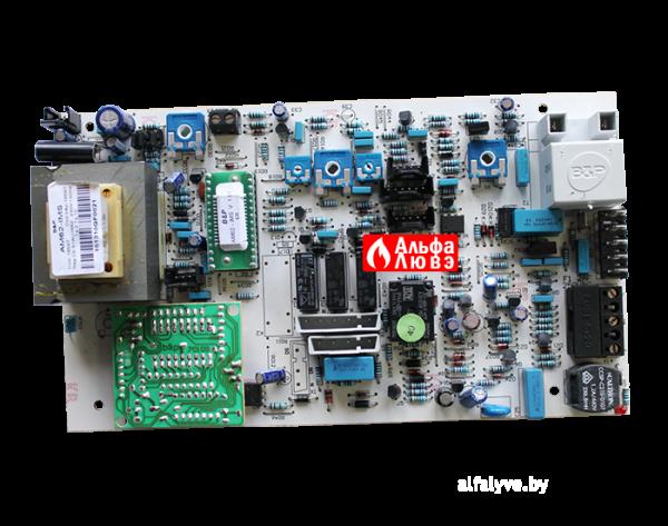 Плата управления AM62-IMS Ver 1.01 ER на котел Альфа-Калор 24, 28, 32 кВт (вид сверху)
