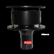 Оголовок дымохода Ø60 алюминиевый для коаксиальных, конденсационных котлов 416AS