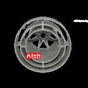 Решетка защитная Ø60-100 для любого вида котла артикул 68195 (вид снизу)