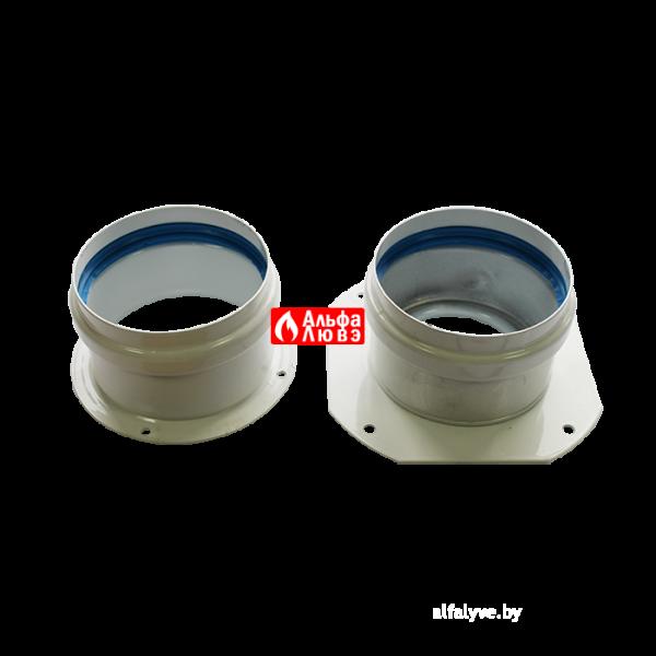 Адаптер двухблочный для раздельного дымоудаления S080803B с комплектом уплотнительных колец и винтов