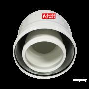 Отвод 87° коаксиальный CCPPS87812MFB Ø80-125 снаружи — алюминий, внутренний — пластик для конденсационного котла любой марки