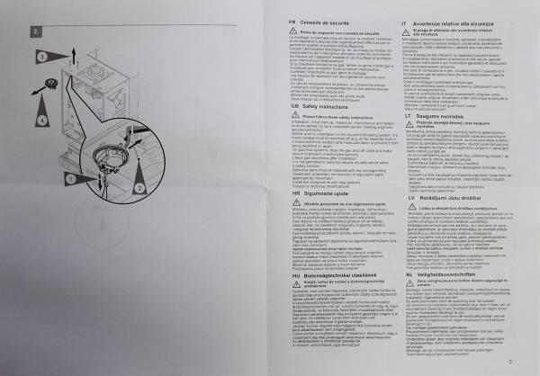 Инструкция по подключению прессостата (реле давления дыма) Viessmann 7817494 (лист 2)