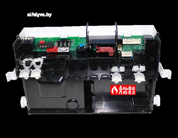 Контроллер управления (плата управления) Viessmann 7831255 на котел Viessmann Vitopend 100 WH1D 24 кВт, 30 кВт (вид сзади-сбоку)