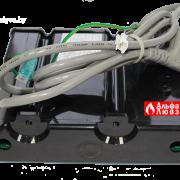 Плата электронная 2080897 в чехле на котел Master Gas Seoul 11, 14, 16, 21 (вид сзади)
