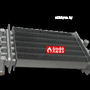 Теплообменник QF/BTGL21S-L270(7224) на котел NevaLux 7211, 7218, 7224 (оборотная сторона)