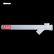 Удлинение каскадное Ø110 PP с ответвлением 45°
