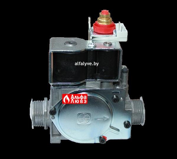 Газовый клапан Immergas 1-021496 и 1-014365 на котел Immergas Eolo, Nike, Avio, Zeus, Hercules (вид сзади)