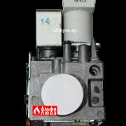 Газовый клапан Immergas 1-021496 и 1-014365 на котел Immergas Eolo, Nike, Avio, Zeus, Hercules (вид спереди)