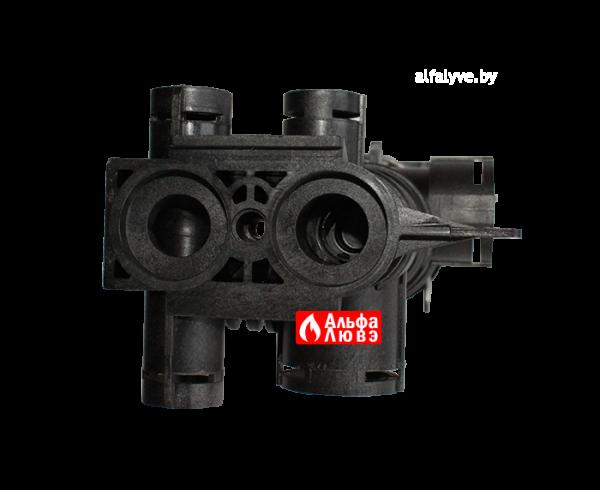Трехходовой клапан Beretta 10026508 для котла Beretta Exclusive Mix 26, 30, 35, City 24, City 25 Green (вид снизу)