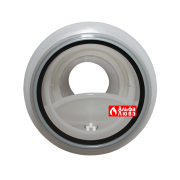 Adapter s obratnim klapanom Ø110-160 PP dlia kondensacionnih kotlov kaskad (vid na otkritij klapan)
