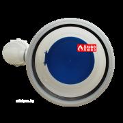 Obratnij klapan s sifonom Ø110-110 dlia sistemi dimoydalenija kondensacionnih kotlov ystanovlennih v kaskad (vid sverhy)