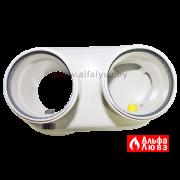03 Адаптер одноблочный для раздельного дымоудаления конденсационных газовых котлов