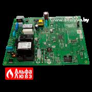 02 Плата управления Honeywell S4962DM3052, Baxi 766487600 на котел Baxi Main5, Quasar E, Eco Compact, Pulsar E (вид сбоку)