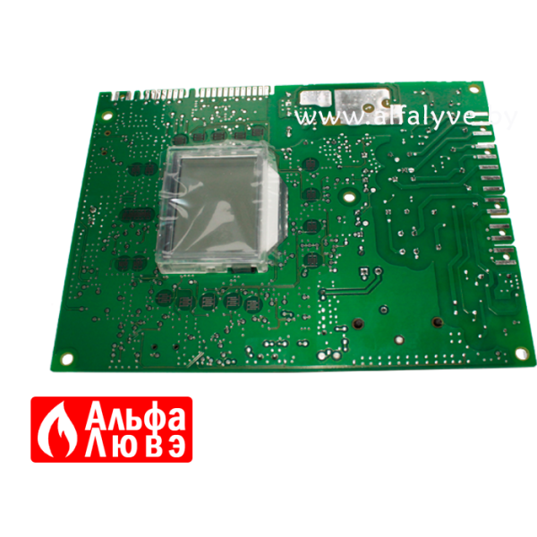 03 Плата управления Honeywell S4962DM3052, Baxi 766487600 на котел Baxi Main5, Quasar E, Eco Compact, Pulsar E (вид сзади)