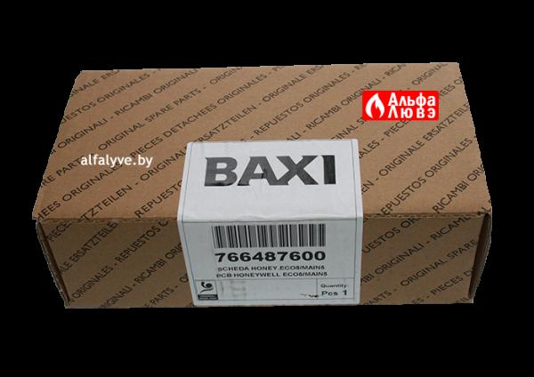 Плата управления Honeywell S4962DM3052, Baxi 766487600 на котел Baxi Main5, Quasar E, Eco Compact, Pulsar E (упаковка)